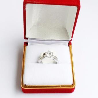 Nhẫn bạc cao cấp Lamia đính đá pha lê (LANHA015)