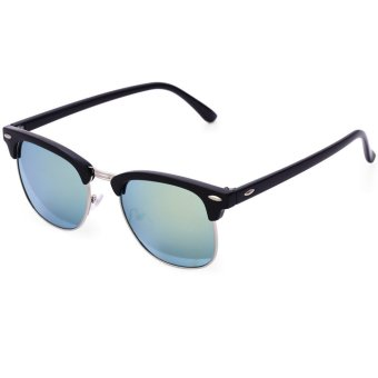 Retro UV400 Resin Sunglasses for Men Women 2 - intl