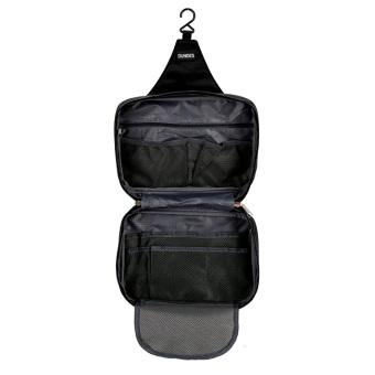 Túi đựng mỹ phẩm đồ dùng cá nhân chống thấm Dundes (Đen)