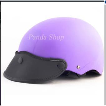 Nón bảo hiểm Sơn panda (Tím X1)
