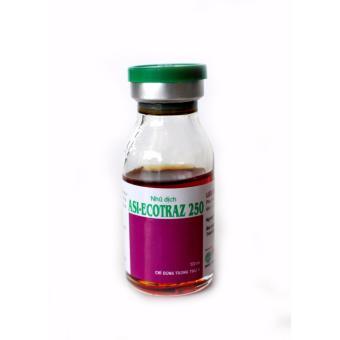 Thuốc phòng trị ve, rận, bọ chét, ghẻ cho vật nuôi Asi-ECOTRAZ 250 (chai 10ml - dung dịch đậm đặc)