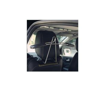 Bộ 1 móc treo áo quần trong xe ô tô (Đen phối trắng).