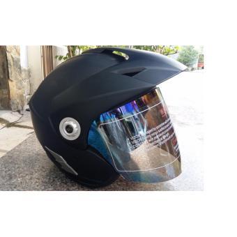 Mũ Bảo Hiểm Moto Napoli N555 (Đen)