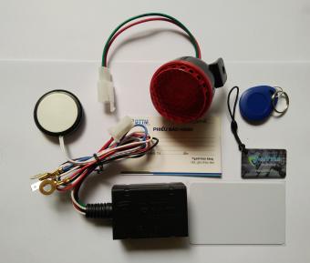 Khoá chống trộm xe máy KTM100 (thẻ từ RFID) cho xe Honda LEAD