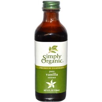 Tinh dầu sạch Vanilla Madagascar Simply Organic 118 ml