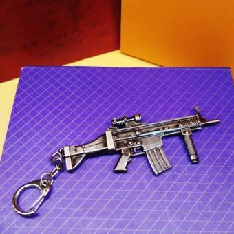 Móc chìa khóa hình súng đột kích đặc nhiệm