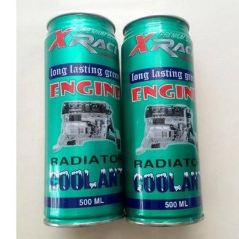 Bộ 2 lon nước làm mát ô tô xe máy X- race Nasca Radiator Coolant 500ml