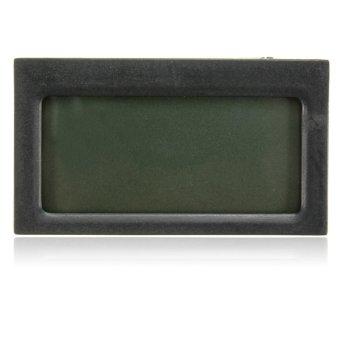 Digital LCD Thermometer Hygrometer Temperature Humidity Vivarium Tank Reptile - intl