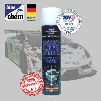 Dung dịch Vệ sinh Hệ thống Họng gió - Bướm ga (Throttle Body Cleaner) Bluechem 280ml