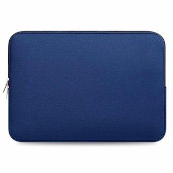 Túi chống sốc bảo vệ Macbook 13 inch (Xanh navi)