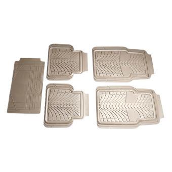 Thảm nhựa ô tô cao cấp PACKY PODA 9105K (Kem)