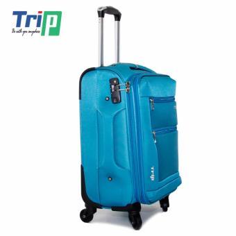 Vali Vải TRIP P038 Size L - 28inch (Xanh thiên thanh)