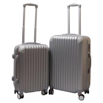 Bộ 2 vali nhựa cứng SAM 20+24 inch (Ghi)