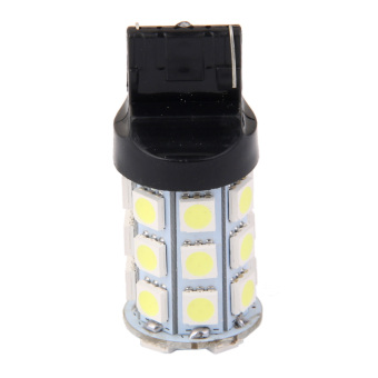 T20 27SMD 5050 Reverse Back Up/Tail/Brake/Stop/Turn LED Light Bulb -White - Intl