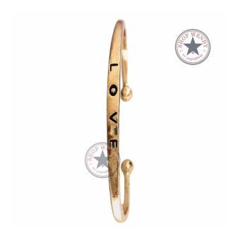 Vòng tay nữ Love - T145 - 9A (Vàng)
