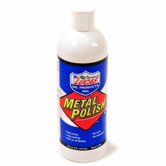 Dung dịch làm sạch bóng bề mặt kim loại LUCAS Metal Polish 473ml (nhập khẩu USA)