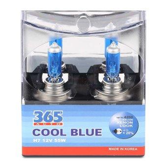 Mua Bộ 2 bóng đèn ô tô 365-Auto H7 Coolblue 12V (Xanh ) giá tốt nhất