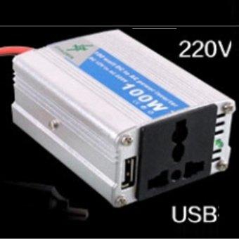 Bộ chuyển đổi nguồn điện 12V thành 220V- 100W HQ STORE 0TI26-2