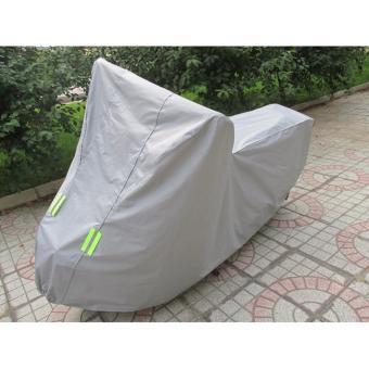 Tấm trùm xe máy chất liệu PVC chống mưa nắng - lót bông chống xước xe