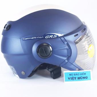 Mũ bảo hiểm GRS A102K (Xanh nhám)