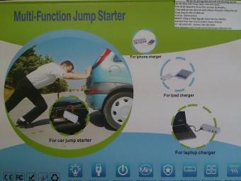 Bộ nguồn sạc dự phòng kiêm kích nổ ô tô đa năng Jump starter EPower 14.000mah (Xanh)