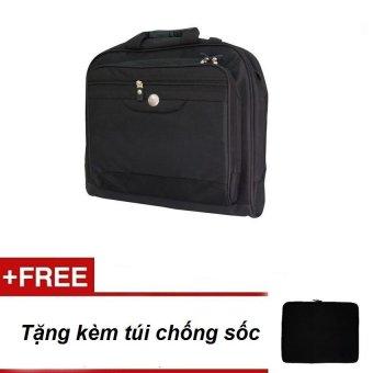 Cặp Laptop + Tặng túi chống sốc