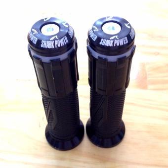 Bộ 2 Bao Tay Lái Xe máy có hộp đèn led new design (đen)