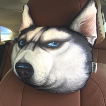 Gối tựa đầu 3D đầu chó