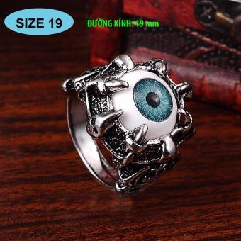 Nhẫn nam thời trang bằng Titan Mắt quỷ Lucifer 332