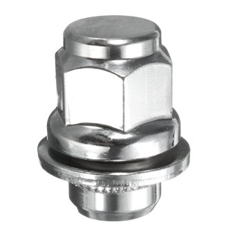 Mua OE Mag Style Lug Nuts with Washer | 12x1.25 | for Nissan Infiniti (Chrome) - intl giá tốt nhất