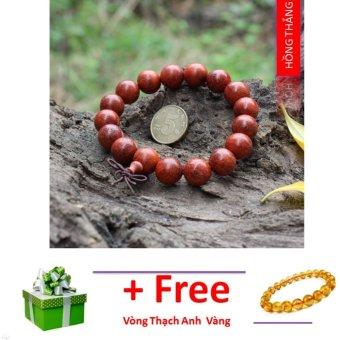 Vòng tay phong thuỷ gỗ Sưa đỏ - Phong thuỷ của danh tiếng và quyền lực
