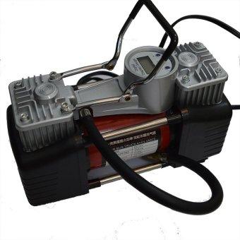 Mua Máy bơm không khí Digital (Display Gauge) hạng nặng hai xi lanh 150PSi & phụ kiện vá lốp xe ô tô B939 giá tốt nhất