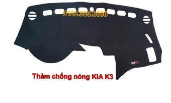 Thảm chống nắng Taplo xe hơi KIA K3