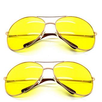 Bộ đôi kính mắt nam nhìn xuyên đêm TTP-101 (Vàng)