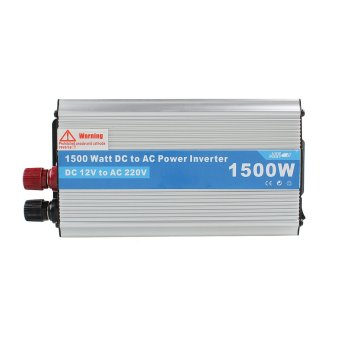 1500W Power Inverter Adapter DC 12V to AC 220V For Car Refrigerator/TV/Camera - intl