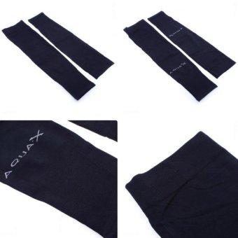 Bộ 2 đôi găng tay chống nắng AQUA (Đen)