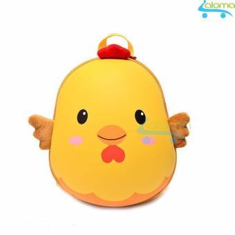 Balo gà yêu đựng quần áo sách vở cho bé CK-25 (Vàng)