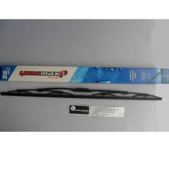 Chổi gạt mưa Korea Viewmax xương cứng CK1-22 inch- 22CK1 -Nhập khẩu Hàn Quốc- Xe Toàn Cầu (Đen)