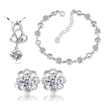 Bộ trang sức bạc đẹp quà tặng yêu thương
