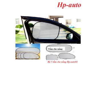 Bộ 5 tấm che nắng trên ô tô Hp-auto