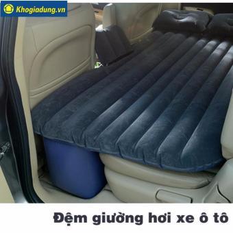 Bộ nệm hơi cho xe oto PVC M199 (Xanh than)