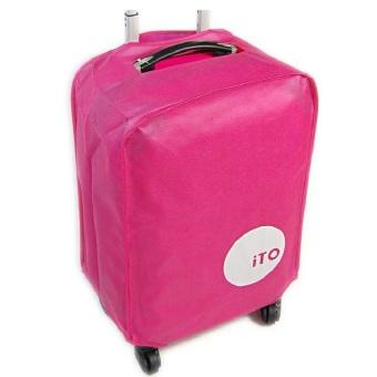 Túi bọc vali chống nước size 24 (Hồng)
