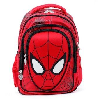 Ba lô học sinh trẻ em 3D Spider Man siêu nhẹ cho bé trai ( BL3DSP15D)