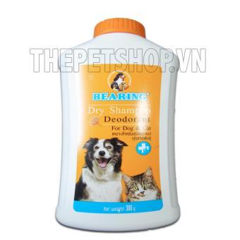 BEARING DRY SHAMPOO 300g-Bột tắm khô cho chó mèo