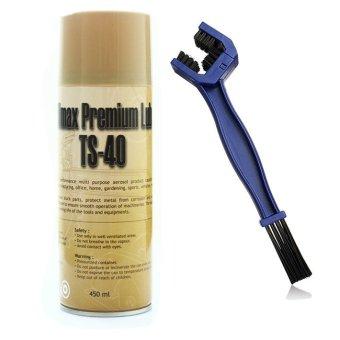 Bộ sản phẩm chai vệ sinh sên TS40 450ml và cọ vệ sinh ngàm cua .