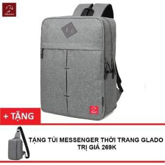 Balo Laptop Thời Trang Nam Zapas BLC005 + Tặng Túi Messenger Glado DCG025- Hãng Phân Phối Chính Thức