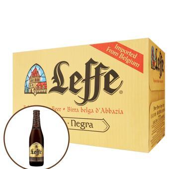 Thùng bia Leffe Brune 24 chai x 330ml