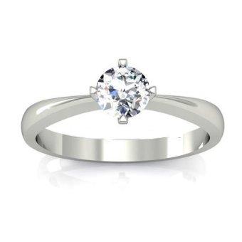 Nhẫn nữ đá kim cương nhân tạo NN18