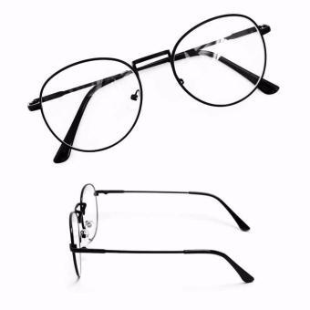 Mắt kính ngố gọng cận Nobita thời trang (đen)