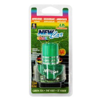Dầu thơm ghim máy lạnh ô tô New Car Color L&D LD006 Hương Trà Xanh 12ml (Xanh lá)